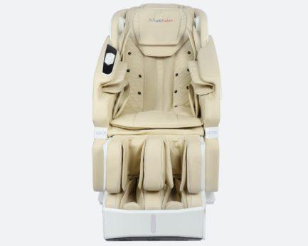 Massagestuhl Produktfoto Modell Prestige in Weiss/Beige - von vorne