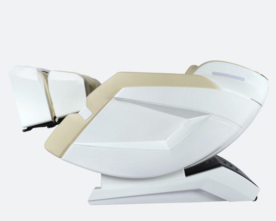 Produktfoto Massagesessel Prestige Weiss/Beige - Zero Gravity Ansicht